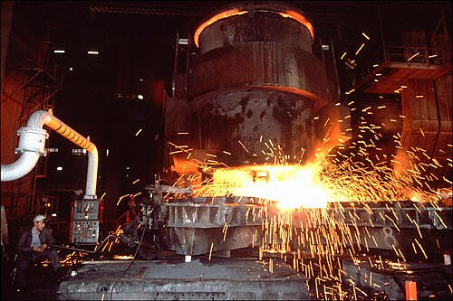 Steel, Iron & Glass Industries